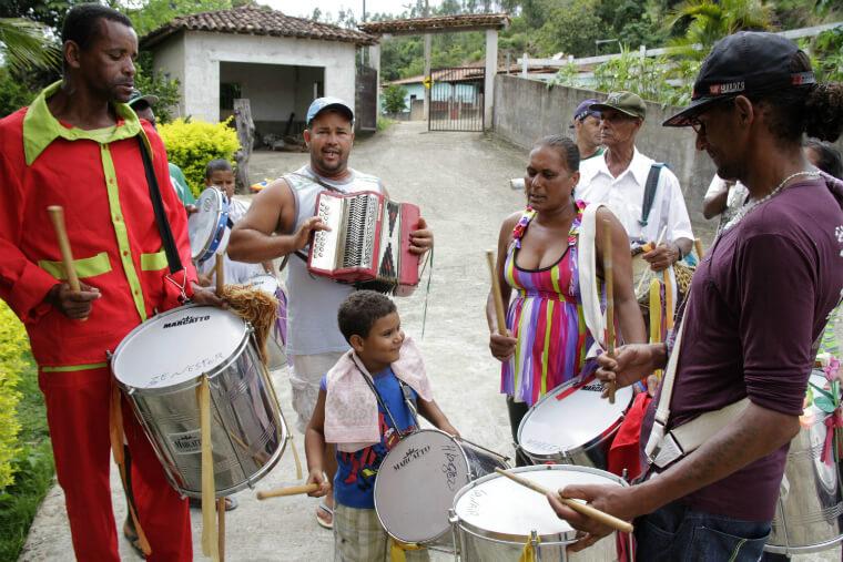 Fundação Renova apoiou a logística do evento e contribuiu com a compra dos instrumentos musicais.