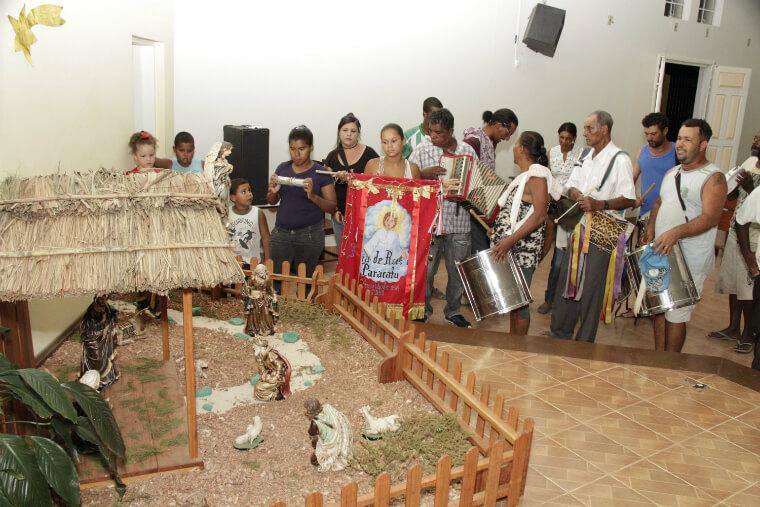 The Three Wise Men Festivity of Paracatu de Baixo commemorates the journey of the Three Wise Men to meet baby Jesus