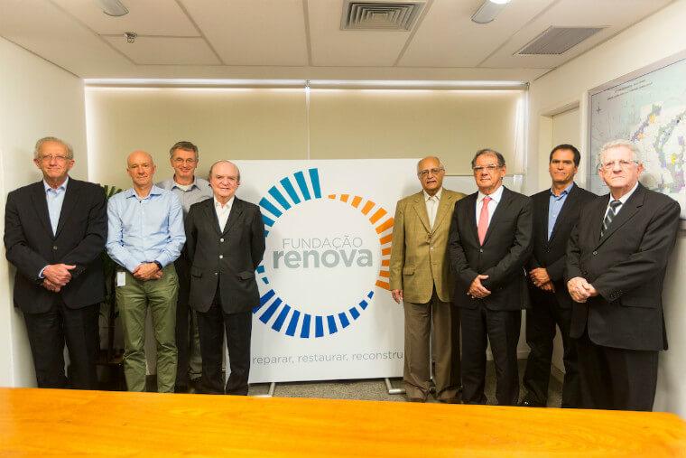 Executivos presentes na primeira reunião do Conselho Curador da Fundação Renova