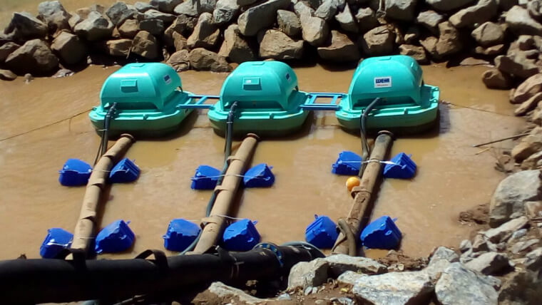 Pancas River Pipeline contributes to improving the quality of water supplied in Colatina.