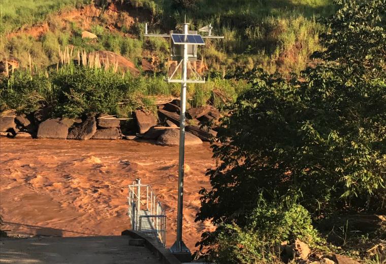 Os equipamentos de monitoramento automático já foram instalados em três pontos do rio Doce.