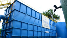 Cachoeira Escura features a new Water Treatment Plant