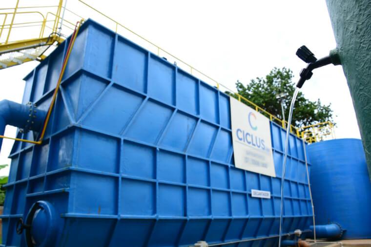 Nova ETA de Cachoeira Escura tem capacidade de tratamento de 40 litros por segundo.