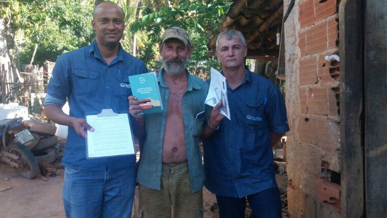 Até o momento, cerca de 2.600 cartões Alelo já foram entregues aos beneficiários.