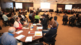 The first day of the forest restoration workshop generated many discussions and suggestions