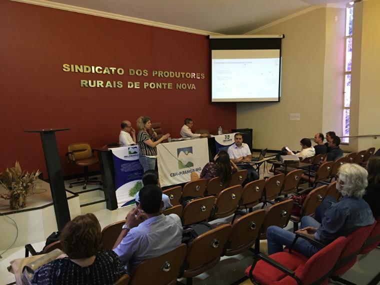 Estudo comparativo sobre a qualidade da água foi apresentado durante reunião do CBH-Piranga
