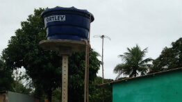 Water tanks will guarantee supply without interruption in Regência