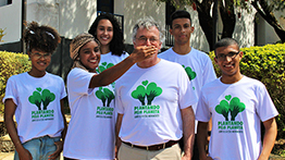 Children and youth from Mariana, Minas Gerais, participated in the 2nd Plant-for-the-Planet Academy