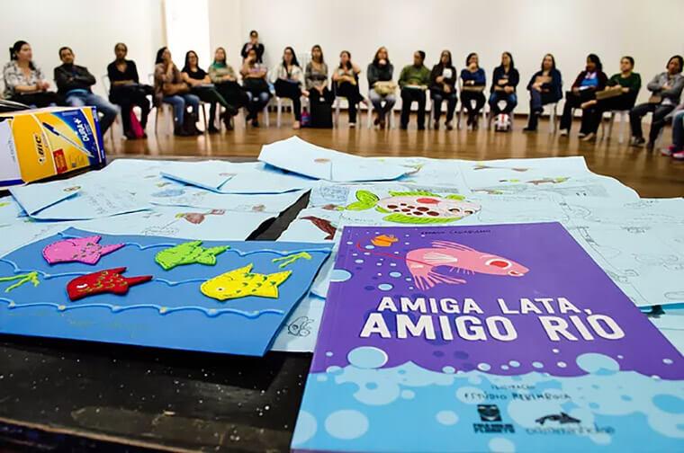 O Projeto Douradinho é um programa cultural de incentivo à leitura e educação ambiental que tem como objetivo a preservação e recuperação dos rios e matas ciliares | Foto: Divulgação
