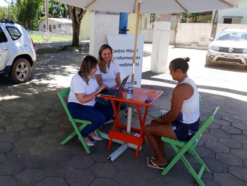 Itinerant service available in 21 localities of Espirito Santo