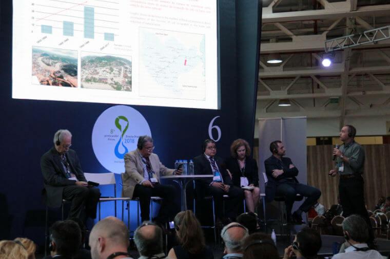 """Sessão """"Reduzindo Riscos e Criando Resiliência Através de Soluções Verdes"""", no 8º Fórum Mundial da Água"""