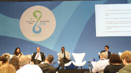 Ministers of numerous countries come together and call for the creation of a COP for water