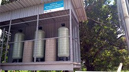 Community of Tumiritinga receives system to reduce the presence of calcium and magnesium salts in water