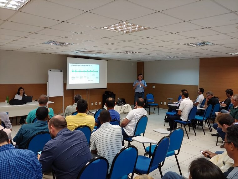 O encontro teve a participação da Fundação Renova e de diferentes órgãos estaduais e municipais