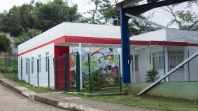 THE GESTEIRA SCHOOL WAS RECONSTRUCTED IN BARRA LONGA, MAIN TOWN OF THE DISTRICT. PHOTO: GUSTAVO BAXTER / NITRO