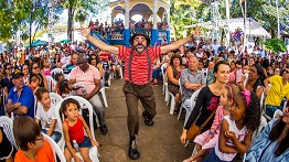 11TH INTERNATIONAL CLOWNS EVENT WITH 4 DAYS OF FREE CIRCUS ACTS IN MARIANA (MG)