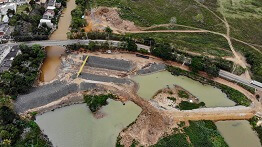 RENOVA BEGINS CONSTRUCTION OF PEQUENO RIVER COFFERDAM IN LINHARES