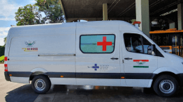 MUNICIPALITY OF RIO DOCE RECEIVES NEW AMBULANCE AS COMPENSATORY MEASURE