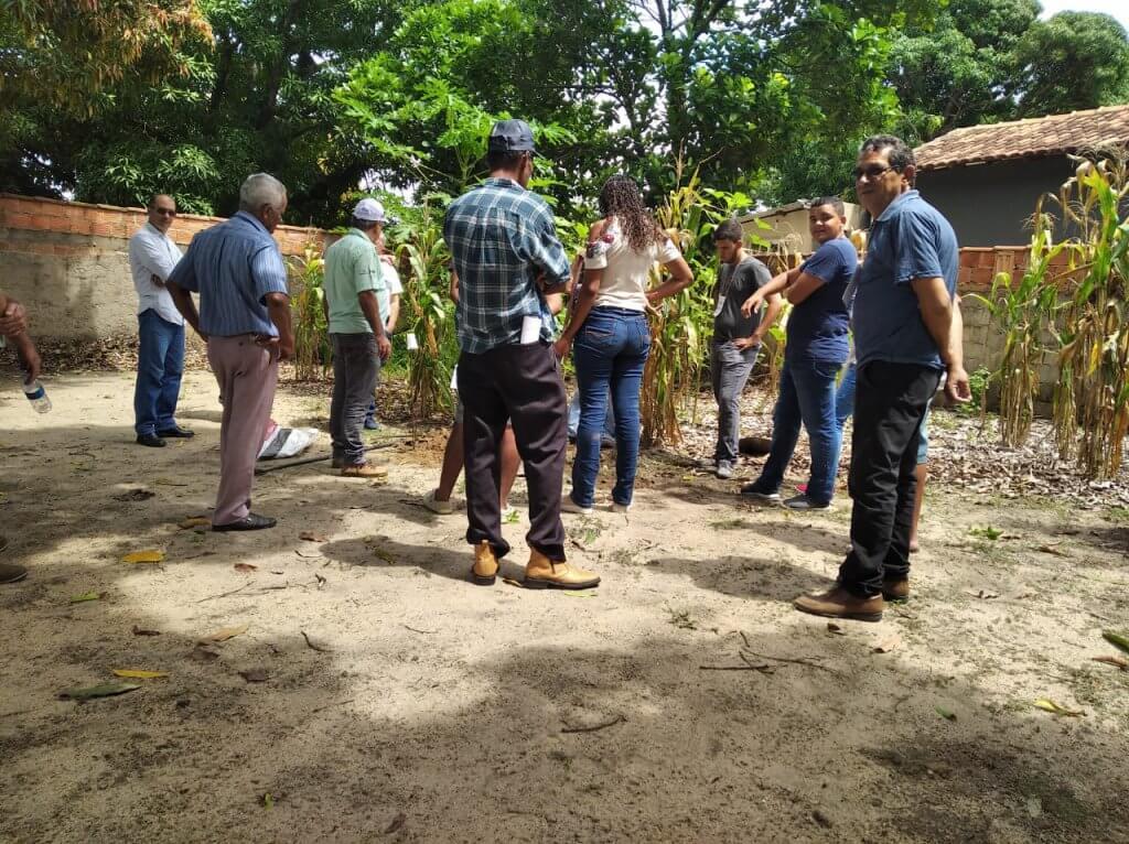 Ao todo, 35 produtores rurais foram capacitados somente neste mês de fevereiro em Conselheiro Pena e Galileia.